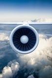 Engine d'avion Photographie stock