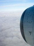 Engine d'avion Image libre de droits