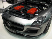 Engine de biturbo de Brabus 700 Image stock