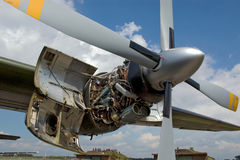 engine de breguet d'atlantique photo stock