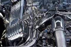 Engine de cru Photo stock