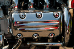 Engine de moto Photos libres de droits