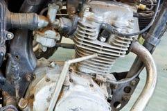 Engine de moto Photographie stock libre de droits