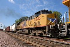 Engine de train Images libres de droits