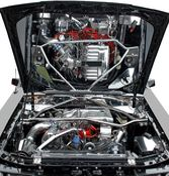Engine de véhicule Photo libre de droits