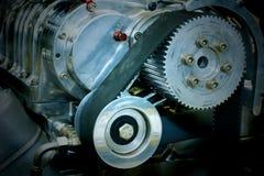 Engine de véhicule de rendement de Hih Images libres de droits