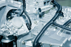 Engine detail Stock Photo