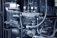 Engine details Stock Image