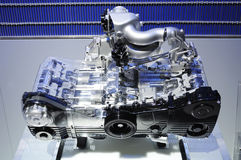 Engine du litre DOHC de Subaru 2.0 Images libres de droits