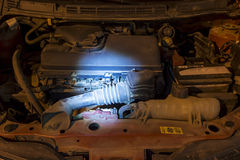 Engine failure concept Stock Image