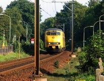 Engine ferroviaire électrique Photographie stock libre de droits