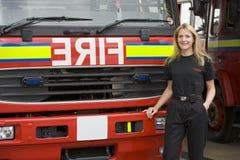 engine firefighter stood στοκ φωτογραφία με δικαίωμα ελεύθερης χρήσης