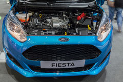Engine of Ford Fiesta Royalty Free Stock Photography
