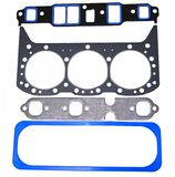 Engine Gasket Set. Set of major engine gaskets - intake,cylinder head,exhaust,valve cover Royalty Free Stock Photography