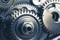 Engine gear wheels Stock Photography