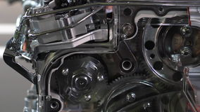Engine gears stock footage