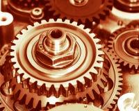 Engine gears wheels Stock Image