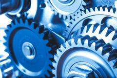 Engine gears wheels Royalty Free Stock Photos