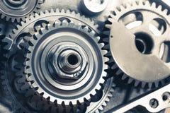 Engine gears wheels Stock Photos
