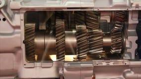Engine gears stock video