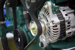 Engine generator Royalty Free Stock Images