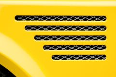 Engine grille Royalty Free Stock Photography
