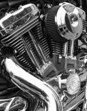 Engine of Harley Davidson motorcycle Stock Photo