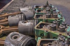Engine heads Stock Photo
