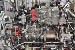 The engine helicopter royalty free stock photo