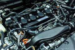 Engine of Honda The All New CIVIC Royalty Free Stock Photography