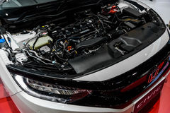 Engine of Honda The All New CIVIC Stock Image
