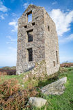 Engine house rosemary and bosigran cornwall uk Royalty Free Stock Images