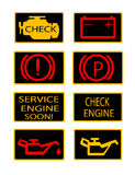 Engine icons Stock Image