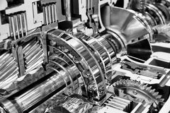 Engine interior Engineering industry concept Royalty Free Stock Image
