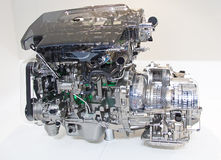 Engine of the modern car Royalty Free Stock Image