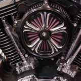 Engine. Modern elements of auto and moto Stock Photo