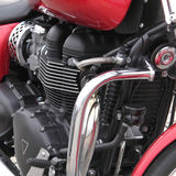Engine. Modern elements of auto and moto Royalty Free Stock Images
