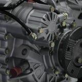 Engine. Modern machine, engineer of motor and mechanism stock photos