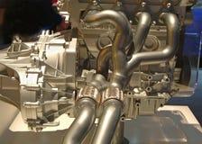 Engine moderne de pouvoir de véhicule Image stock