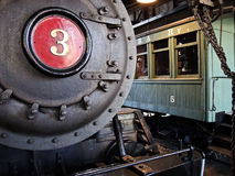 Engine Number 3 Stock Photo