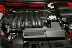 Engine Of The Modern Car Royalty Free Stock Photography