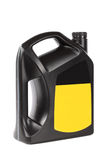 Engine oil bottle Stock Image