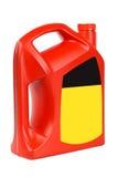 Engine oil bottle Royalty Free Stock Photo