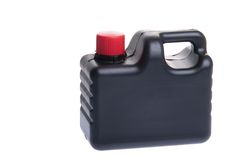 Engine oil bottle stock photos