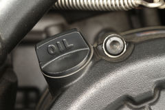 Engine oil cap Royalty Free Stock Photography