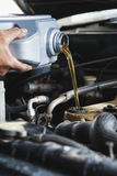 Engine oil stock photography