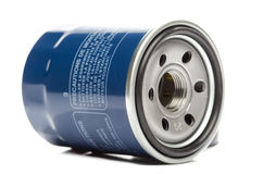 Engine Oil Filter Royalty Free Stock Photos