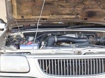 Engine old cars maintenance repair Stock Photos