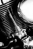 Engine of old motorcycle Royalty Free Stock Image
