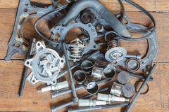 Engine parts Royalty Free Stock Images